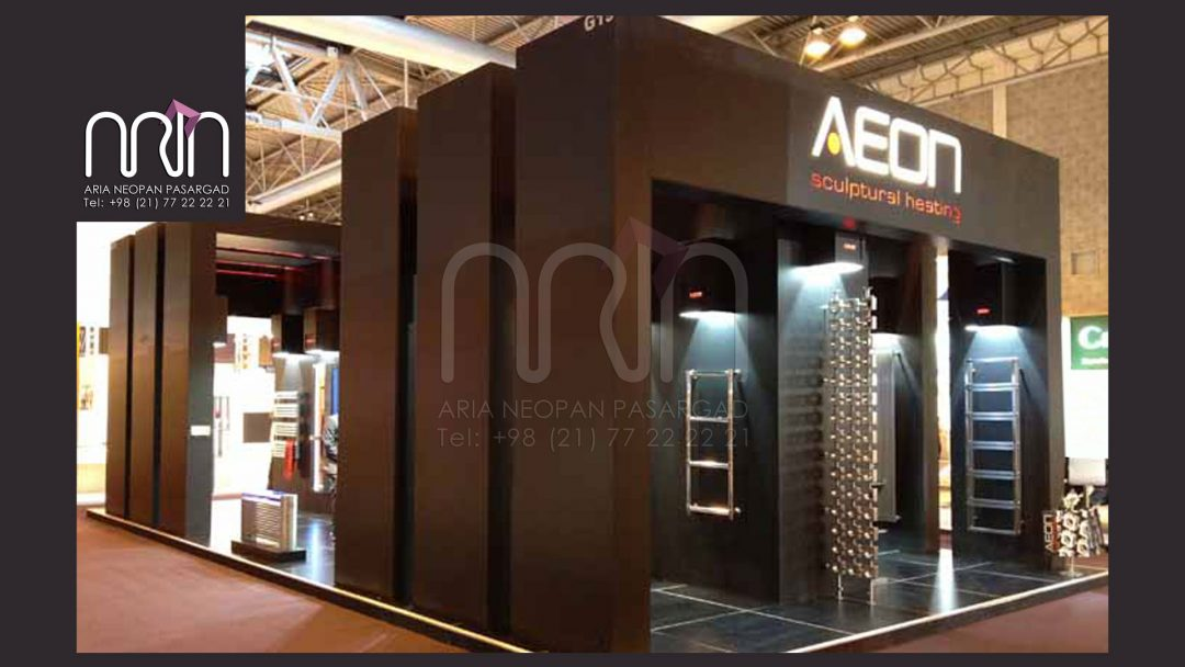 AEON co. booth design & instalation