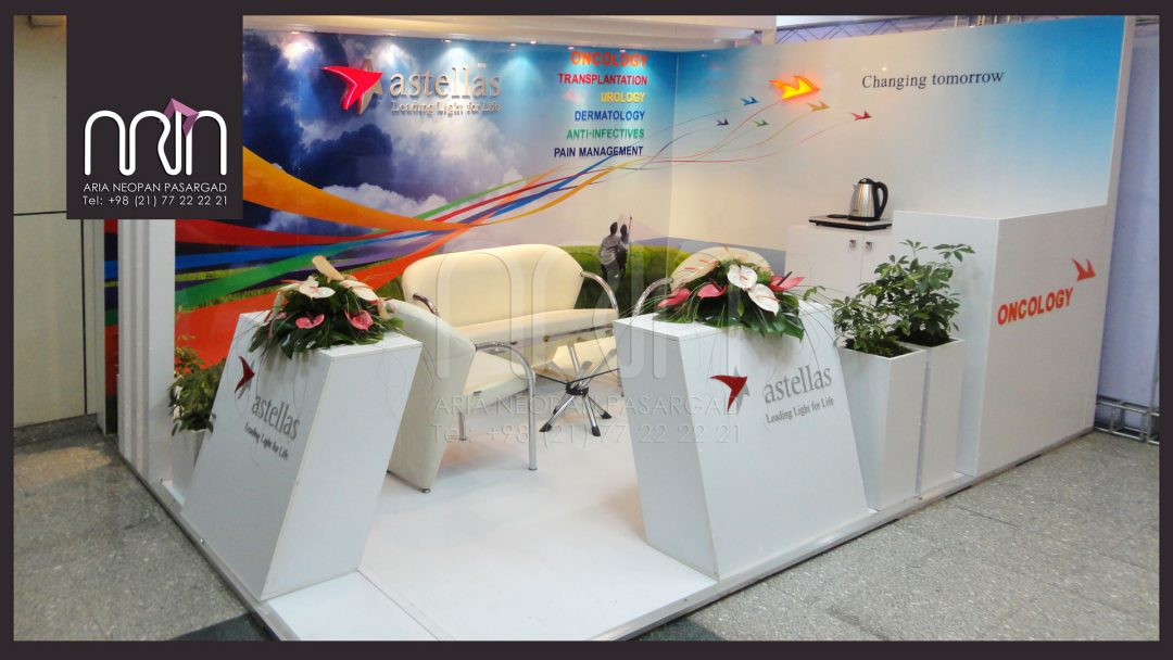 astellas co  booth design & instalation - Tarh Arya
