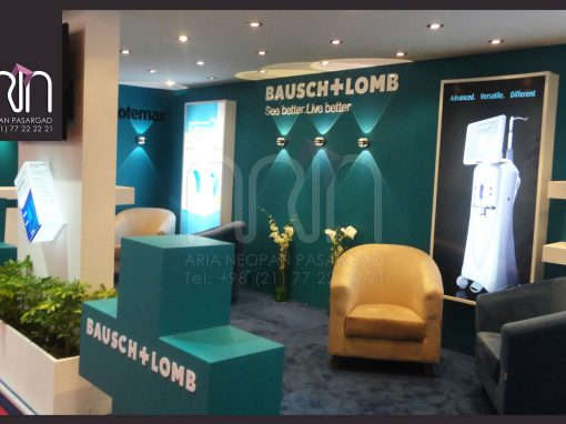 BAUSCH+LOMB co. booth design & instalation