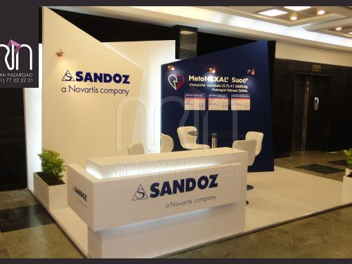 SANDOZ co. booth design & instalation