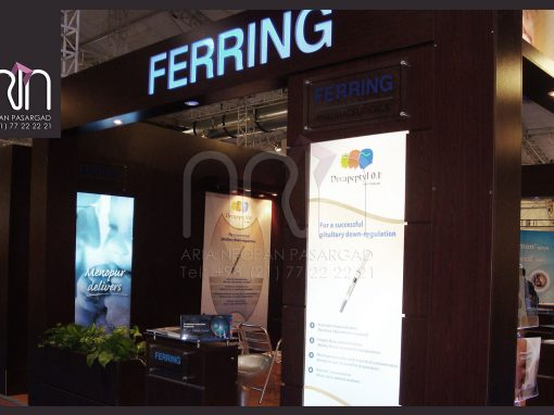 FERRING co. booth design & instalation