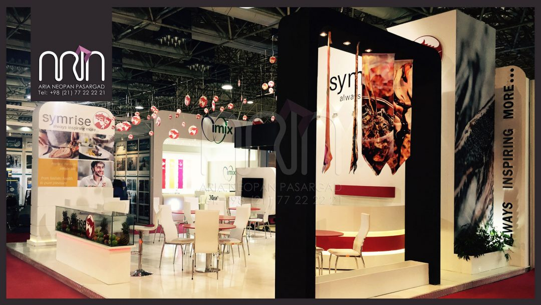 SYMRISE co. booth design & instalation