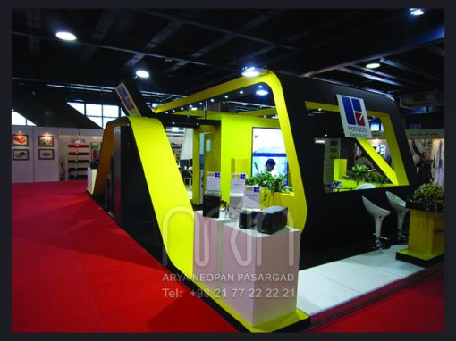 PORSOO co. booth design & instalation