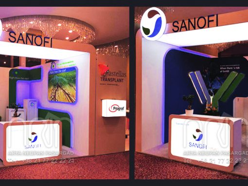 SANOFI co. booth design & instalation