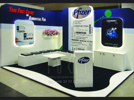 PFIZER co. booth design & instalation