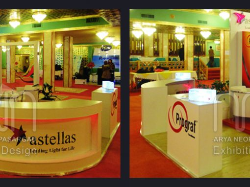 ASTELLAS co. booth design & instalation