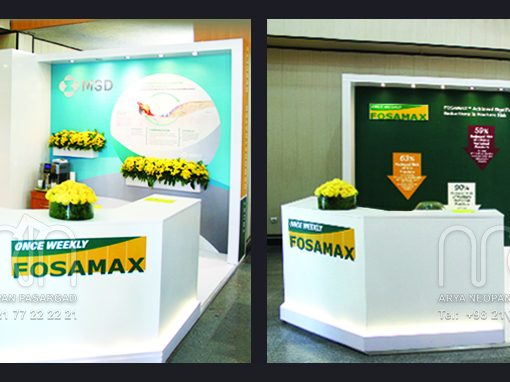 MSD co. booth design & instalation